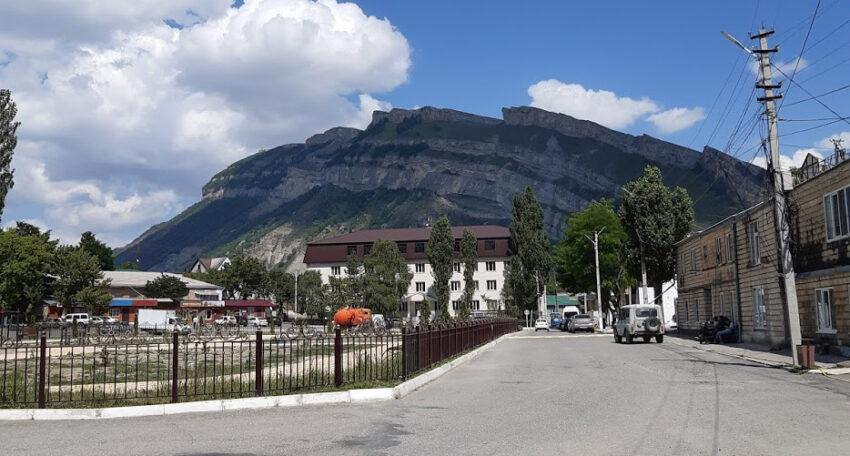 Gunib, the final town before Gamsutl. Dagestan