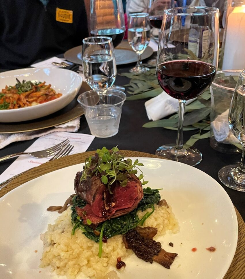 venison at adventure on the gorge