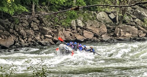 New River Gorge offers some of the most thrilling white water adventures in the East.