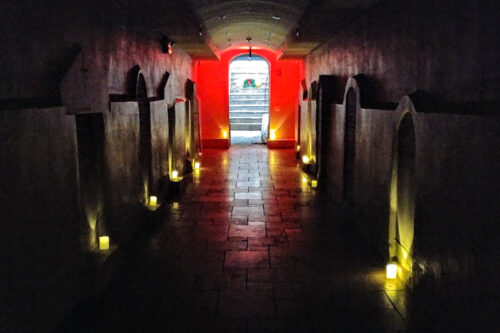 Mystery awaits beneath the original Saint Patrick's basilica in downtown, NYC.
