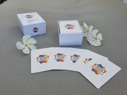 Better Topics game cards