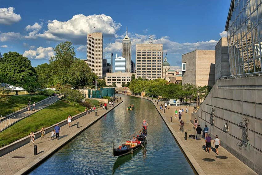 Canal Gondolier Indianapolis