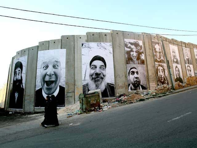 Face2Face (Israel, Palestine) peace monuments