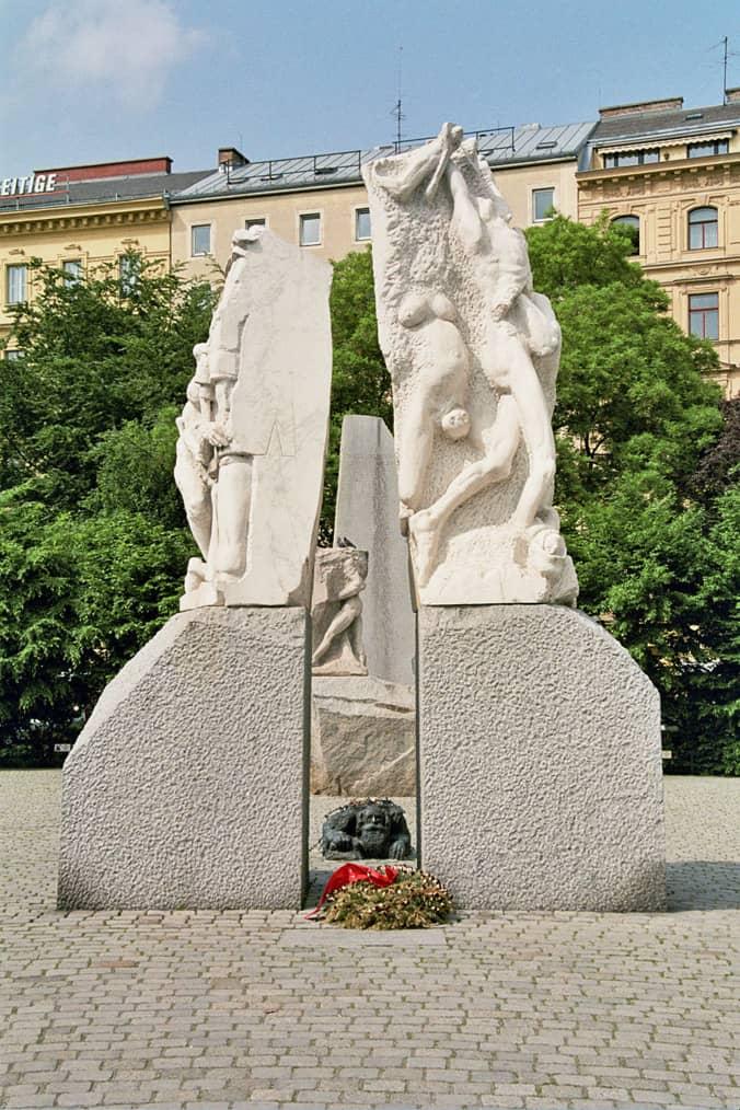 Monument War Fascism peace monuments Monument against War and Facism (Vienna, Austria)