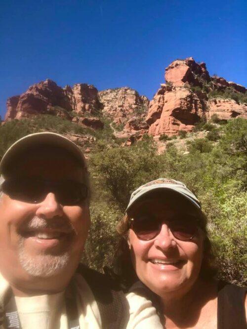 Morning Hiking in Boynton Canyon in Sedona, Arizona.