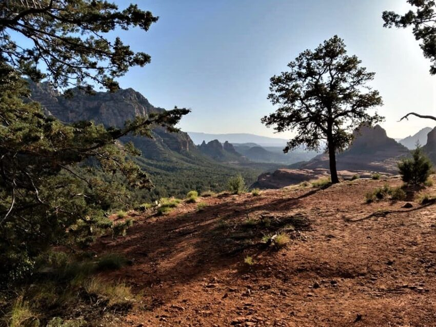 Off Roading Views on Schnebly Hill Road in Sedona.