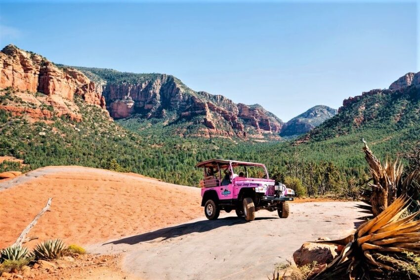 Pink Jeep Tour to Visit the Vortexes