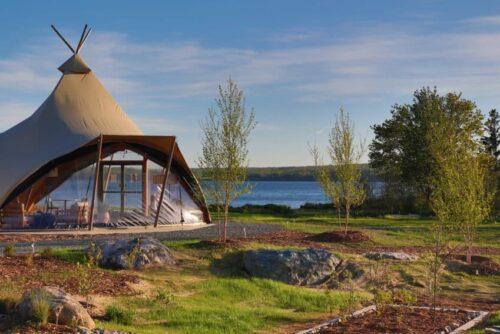 Enjoy Glamping Near Maine's Acadia National Park