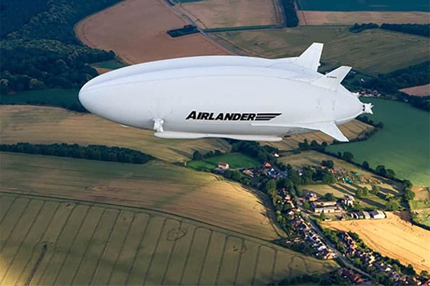 Hybrid AirVehicles: Breathtaking Views From a Blimp