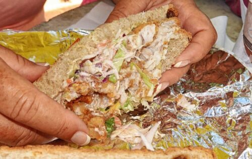 Bermuda Fish Sandwich