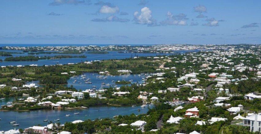 Bermuda Gibbs Lighthouse View