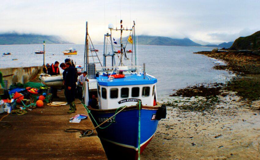 Elgol pier Isle of Skye