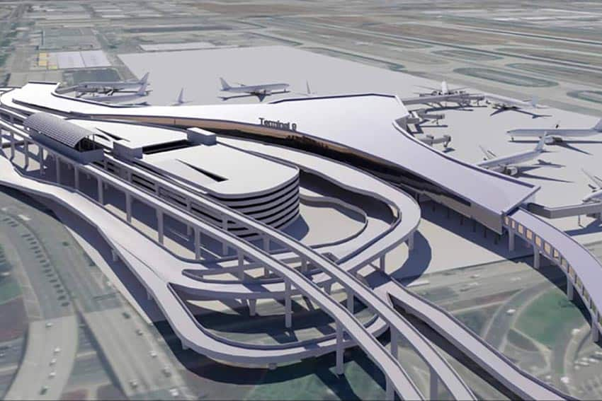 LAX in the Process of a Remarkable Facelift