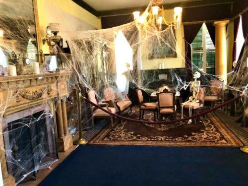 Haunted Marsten House Dining room
