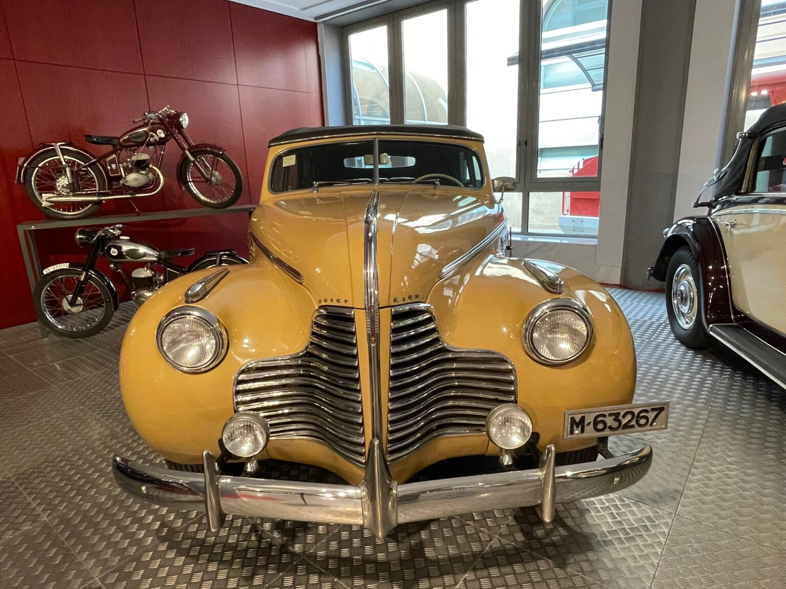 A museum filled with antique cars in Salamanca, Spain was one of the sites we enjoyed.