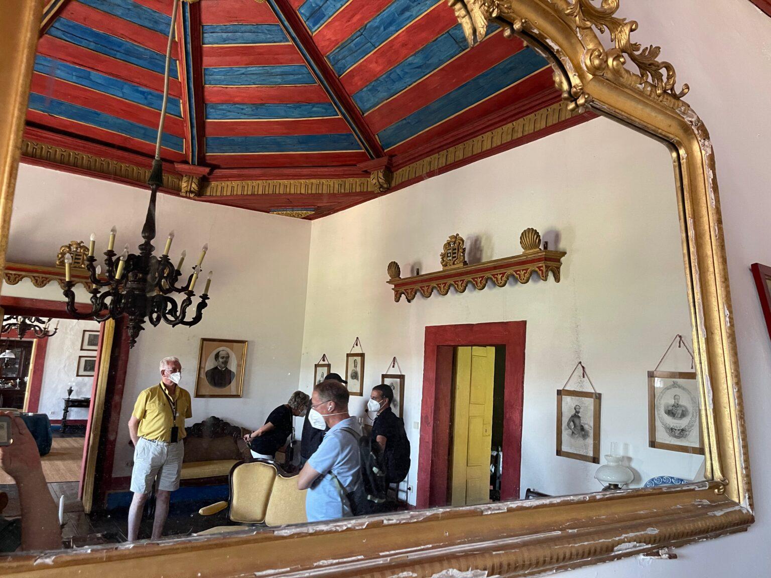 Visiting the 17th century Morgadio da Calcada in Provesende, Portugal.