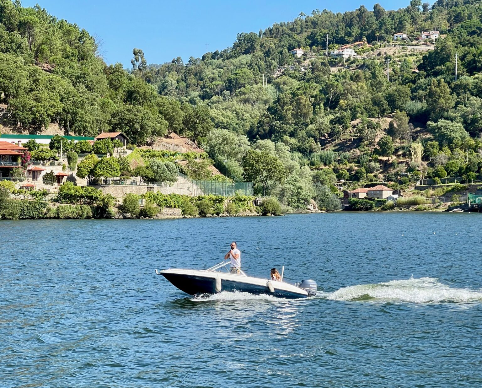 Pleasure craft and other cruise ships are the only vessels that ply the Douro River in Portugal.