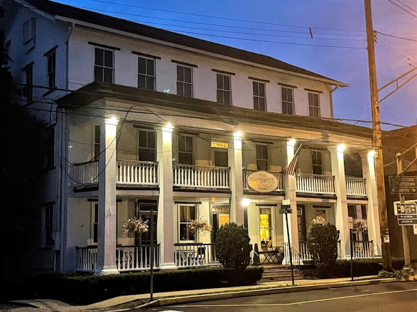 National Hotel in Frenchtown, New Jersey