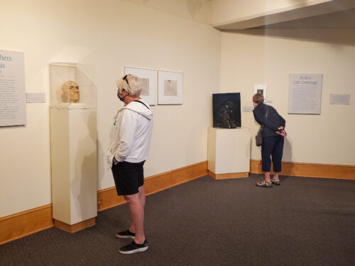 The Rodin sculpture collection in the Maryhill Museum of Art.