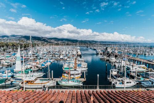 Santa Barbara Harbor View Photo: Blake Bronstad