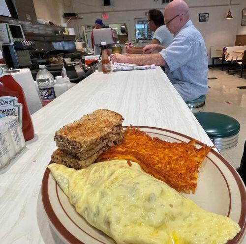 Sneddons Luncheonette western omelet