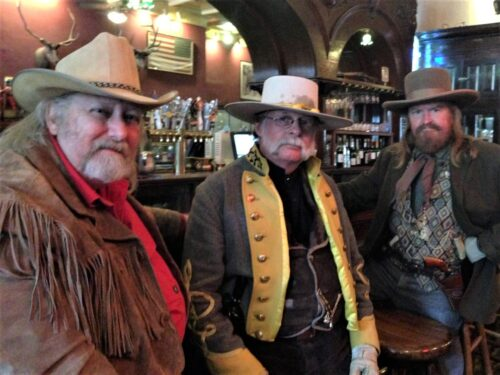Some Virginia City Locals bellying up to the bar