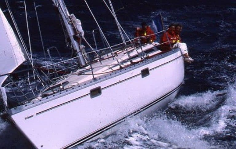 Spetsess sailing jeanneau