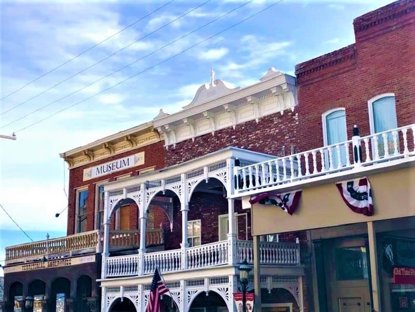 Strolling downtown Virginia City