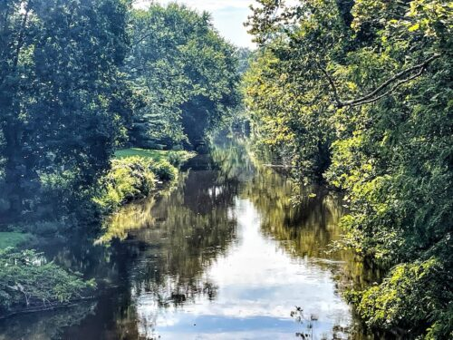 The Delaware and Raritan Canal in New Jersey.