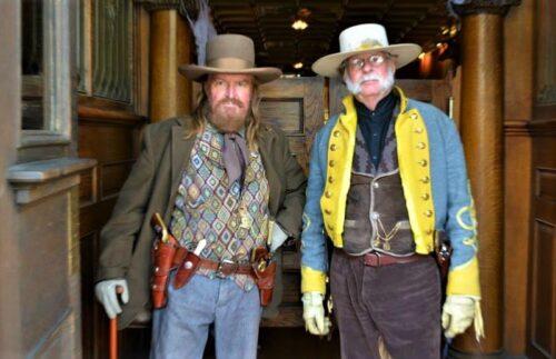 Virginia City residents sporting their western attire.