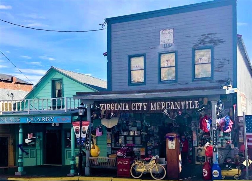 Virginia Citys historic downtown mercantile
