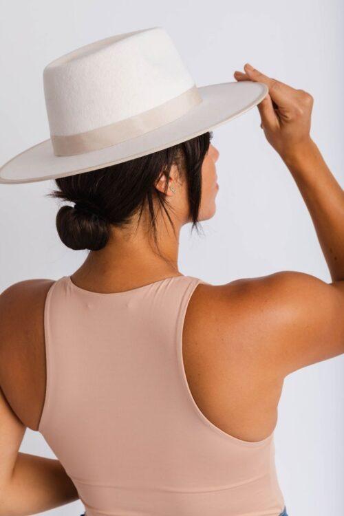 Rae Rancher herron and Pine hats